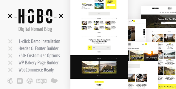 hobo travel wordpress theme