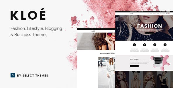 kloe fashion / beauty theme