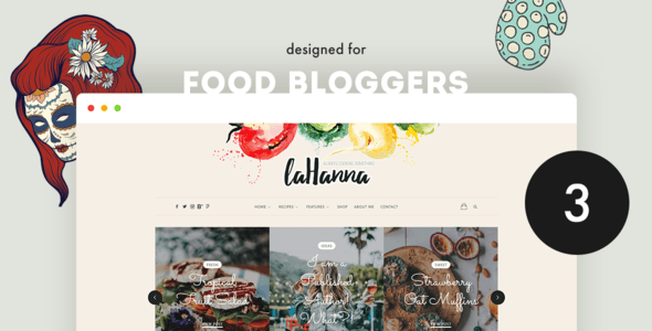 lahanna food theme