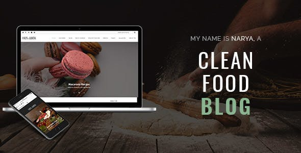 narya food wordpress theme