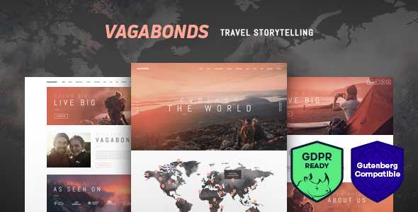 vagabonds travel theme