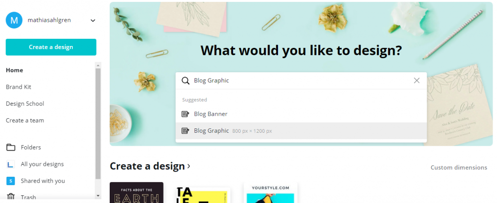 canva blog designs