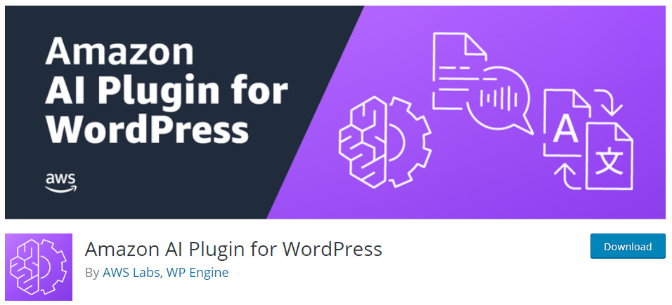 Amazon Polly AI Plugin for WordPress